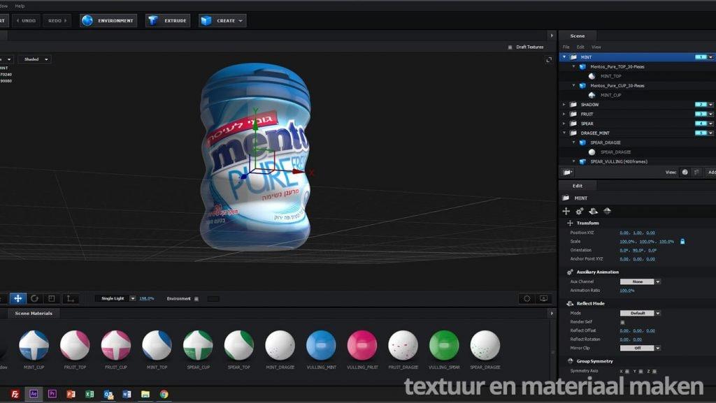 3D Animatie Mentos Pure Israel 7